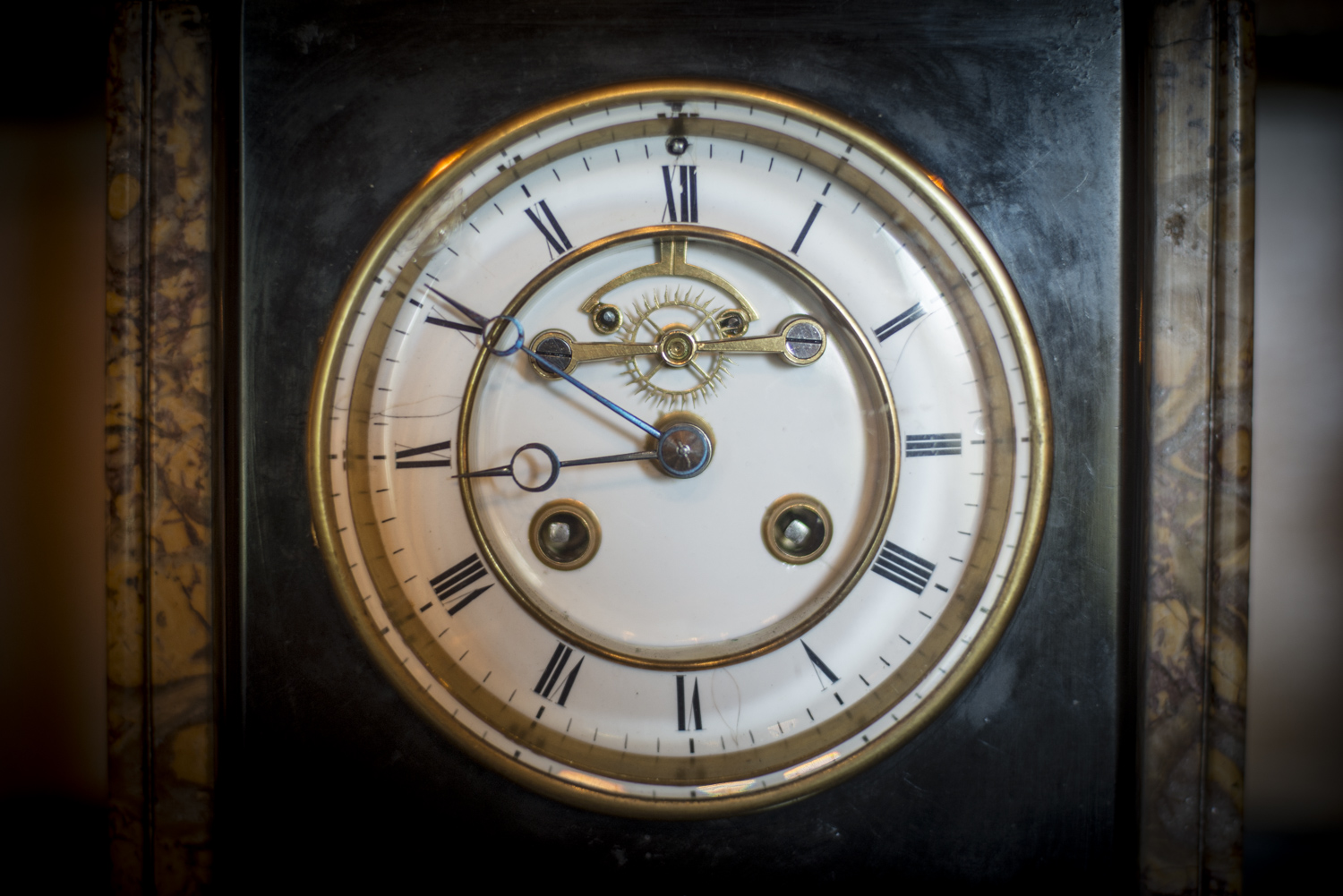Clock in the Smoking Room