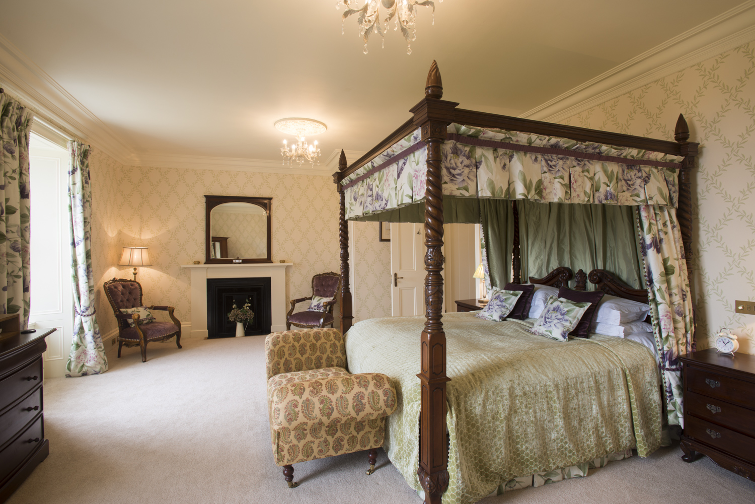 Master bedroom in the Castle