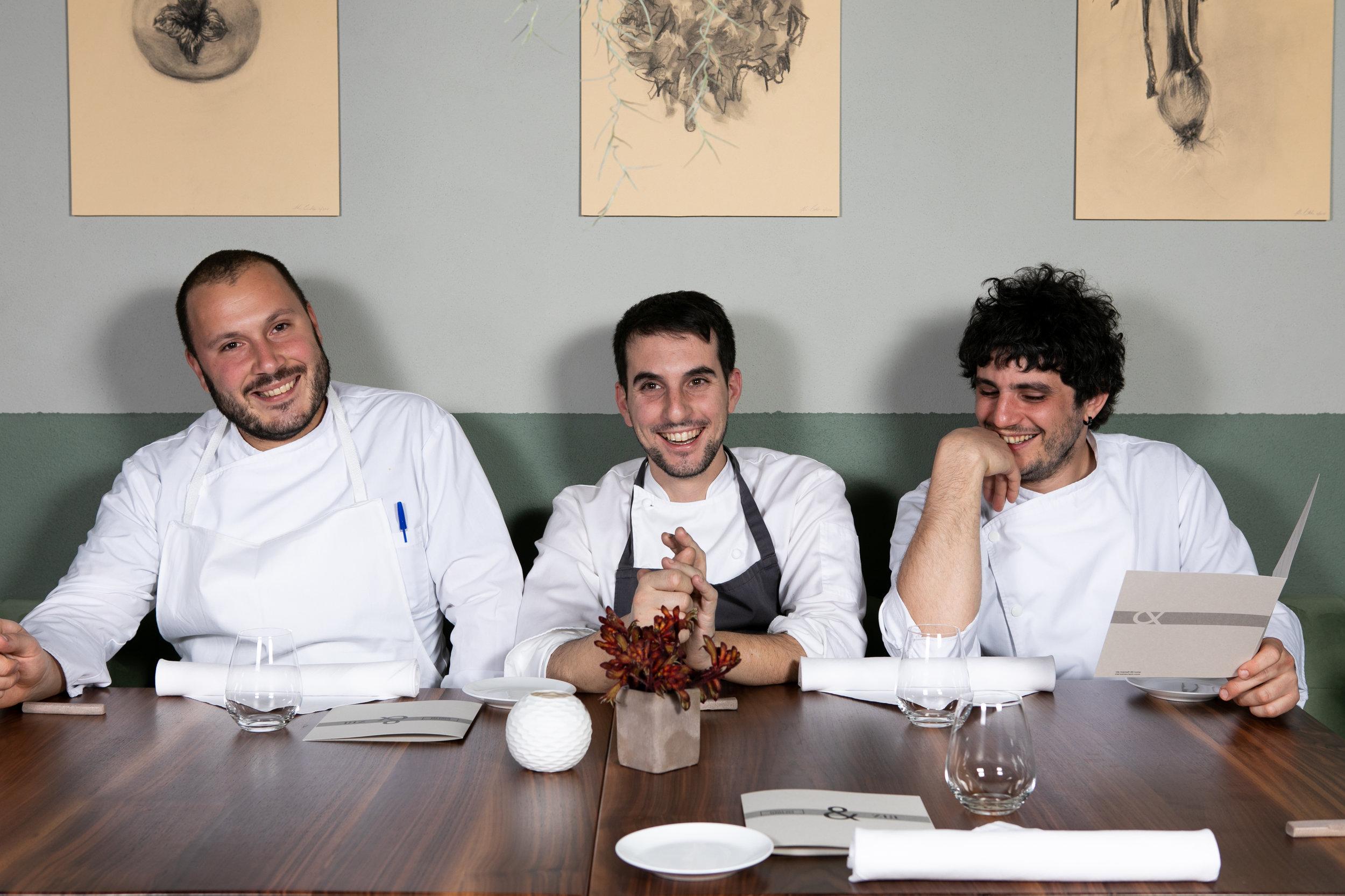 Benedetto Rullo, Antonio Ziantoni, Stefano Terigi, Zia Restaurant/Giglio Ristorante (C/O Aromi)