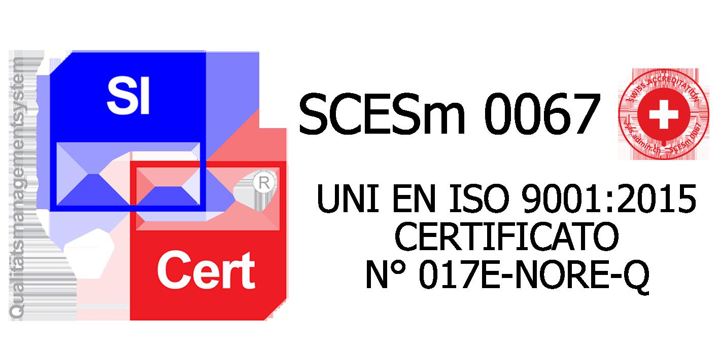 New ISO9001 - Dal 2017 siamo certificati per poter garantire ai nostri partner il miglior servizio di qualita.