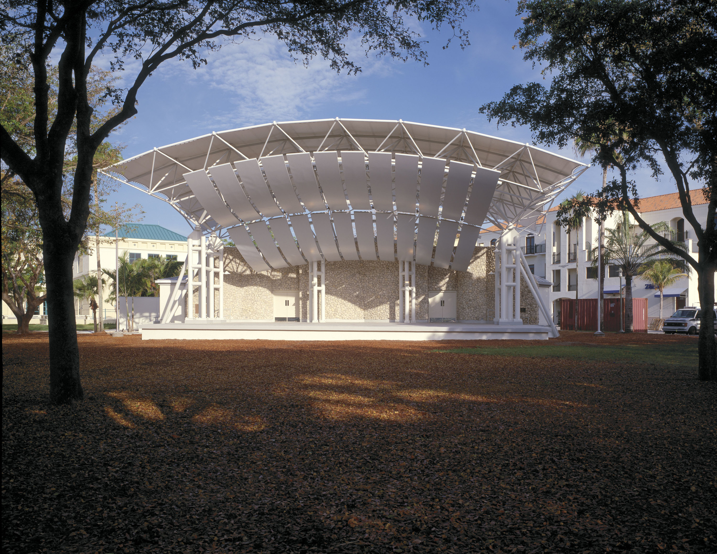 Cambier Park Bandshell