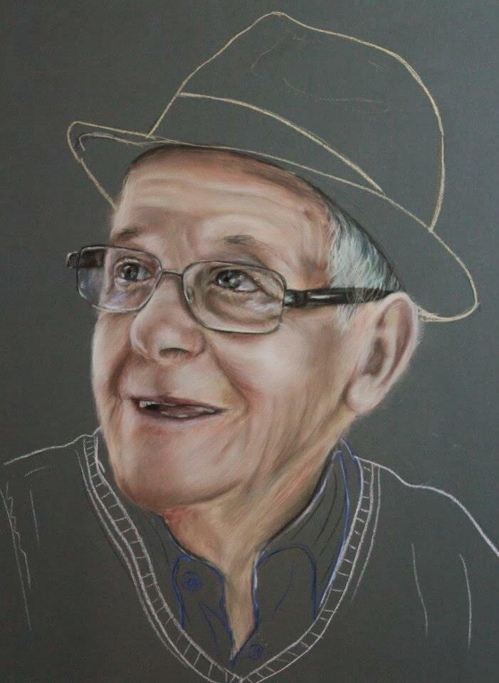 Desenho do artista e professor daniel barreiros
