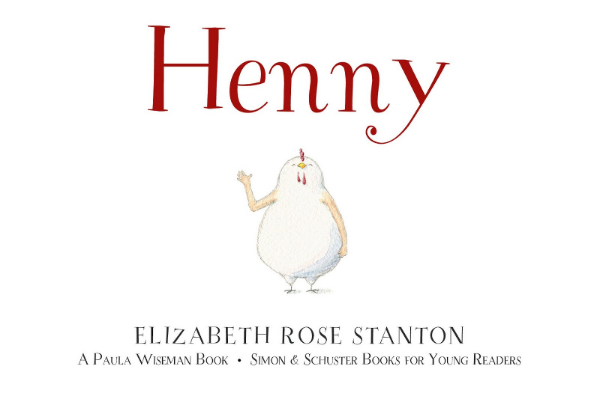 Debut Picture book Author/Illustrator:  Elizabeth Rose Stanton