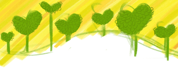 I love yellow and wanted more sunshine, so I used the channel selector in PS to take some of the broccoli green out...