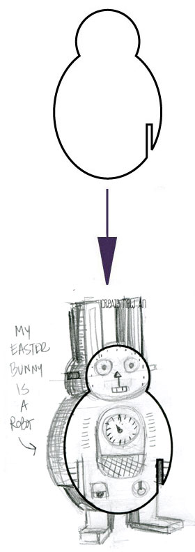 Meet EASTER BUNNY ROBOT