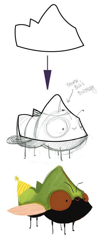 What do you think  Thorn Bug  wants for his birthday?