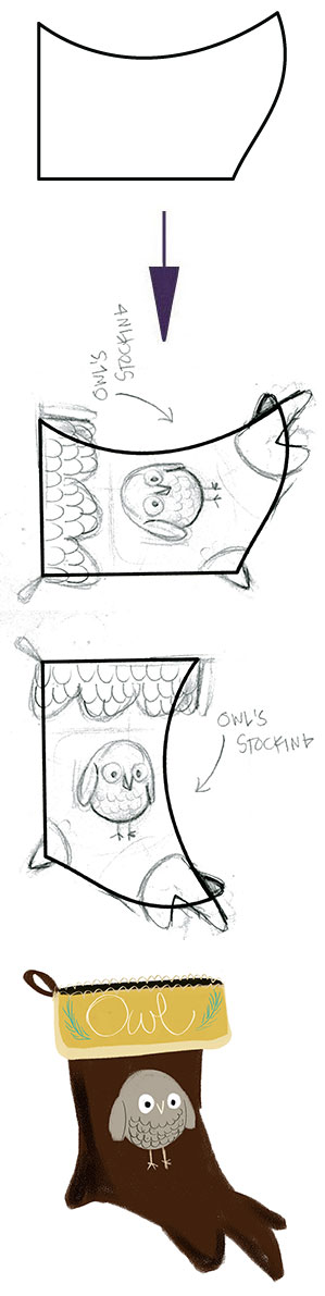 OWL'S STOCKING