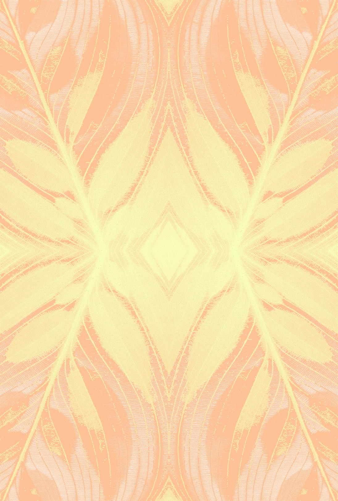 LEEBECCA x EMDAL > COLLAB  Soft & Serene, Emdal artwork for transparent drapes in 3D