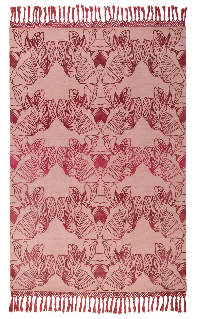FLOORSTORY x EMDAL > DESIGNER COLLAB  Handknotted rug in Nepal, tibetan technique, NZ wool & silk
