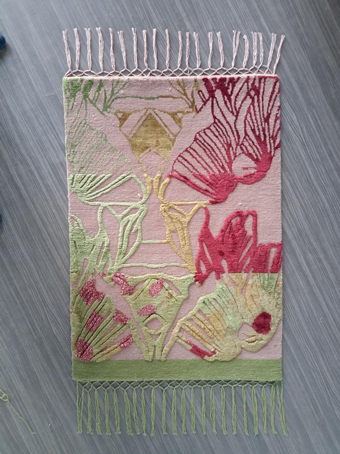 FLOORSTORY x EMDAL > DESIGNER COLLAB  Handknotted rug, tibetan technique, NZ wool & silk