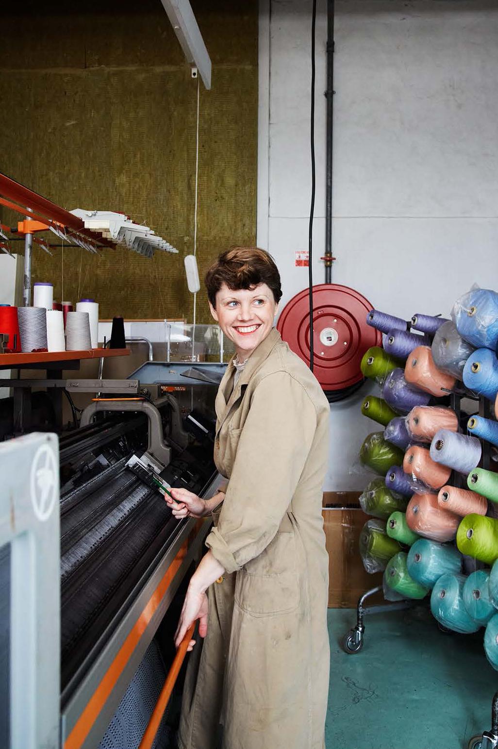 STOLL ANVH-B gage 12, Vintage pre-digital industrial knitting 1984