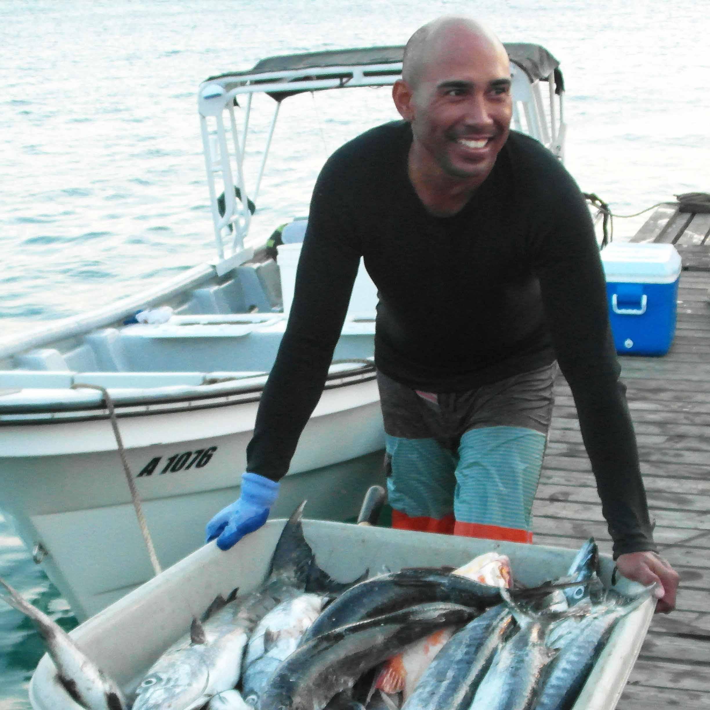 Aruba - fresh fish