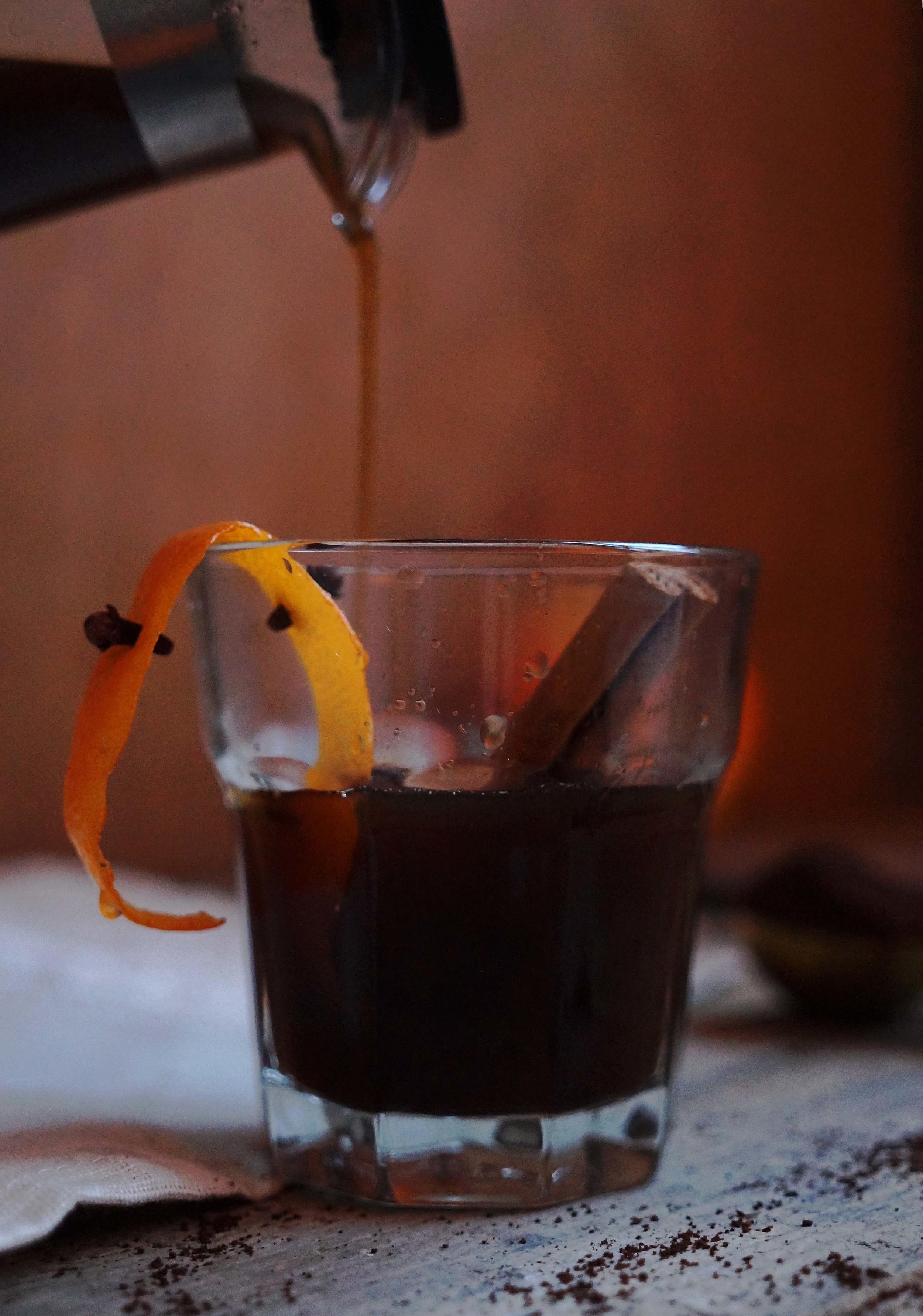 Café Brulot - geflambeerde koffie met sinaasappel & specerijen
