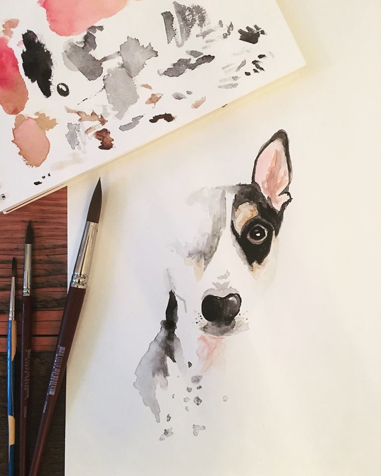 Do you Love your fur babies as much as we do? Or does a family member love their fur babies These incredible paintings are perfect gifts for those who love their pets! Found at  The Loyal Collection