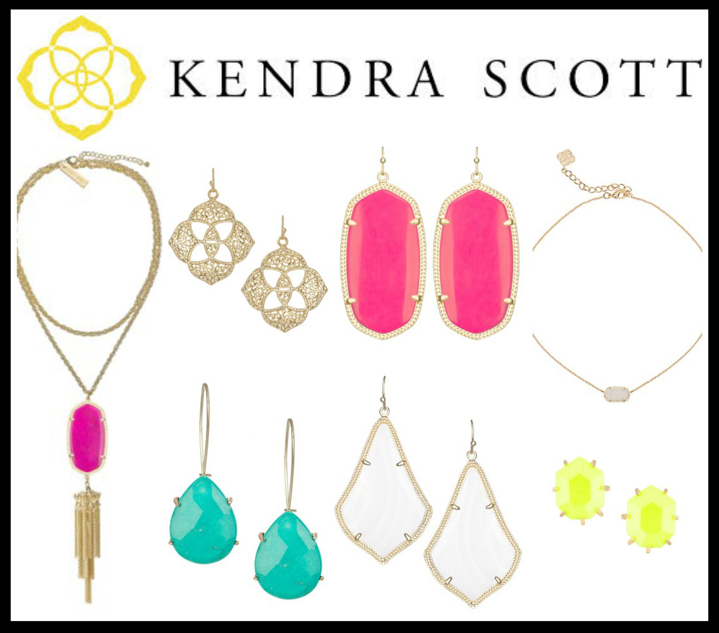 Every girl loves  Kendra Scott . I am hoping to find some under my tree.