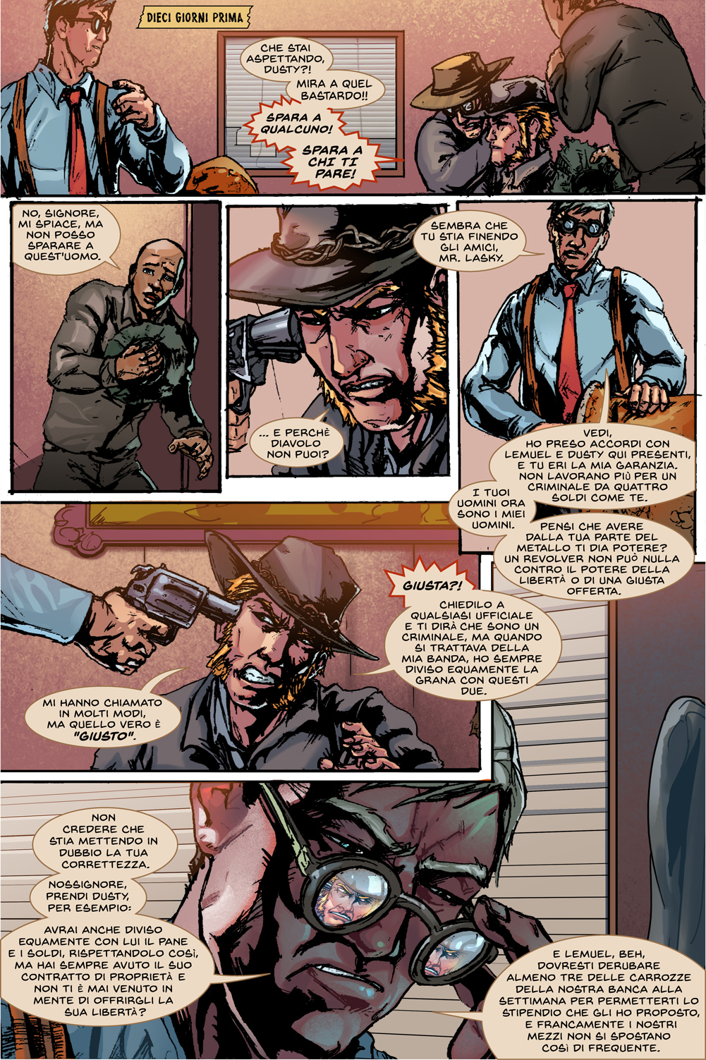 Sartana #1 - Page 10 - Italian Translation