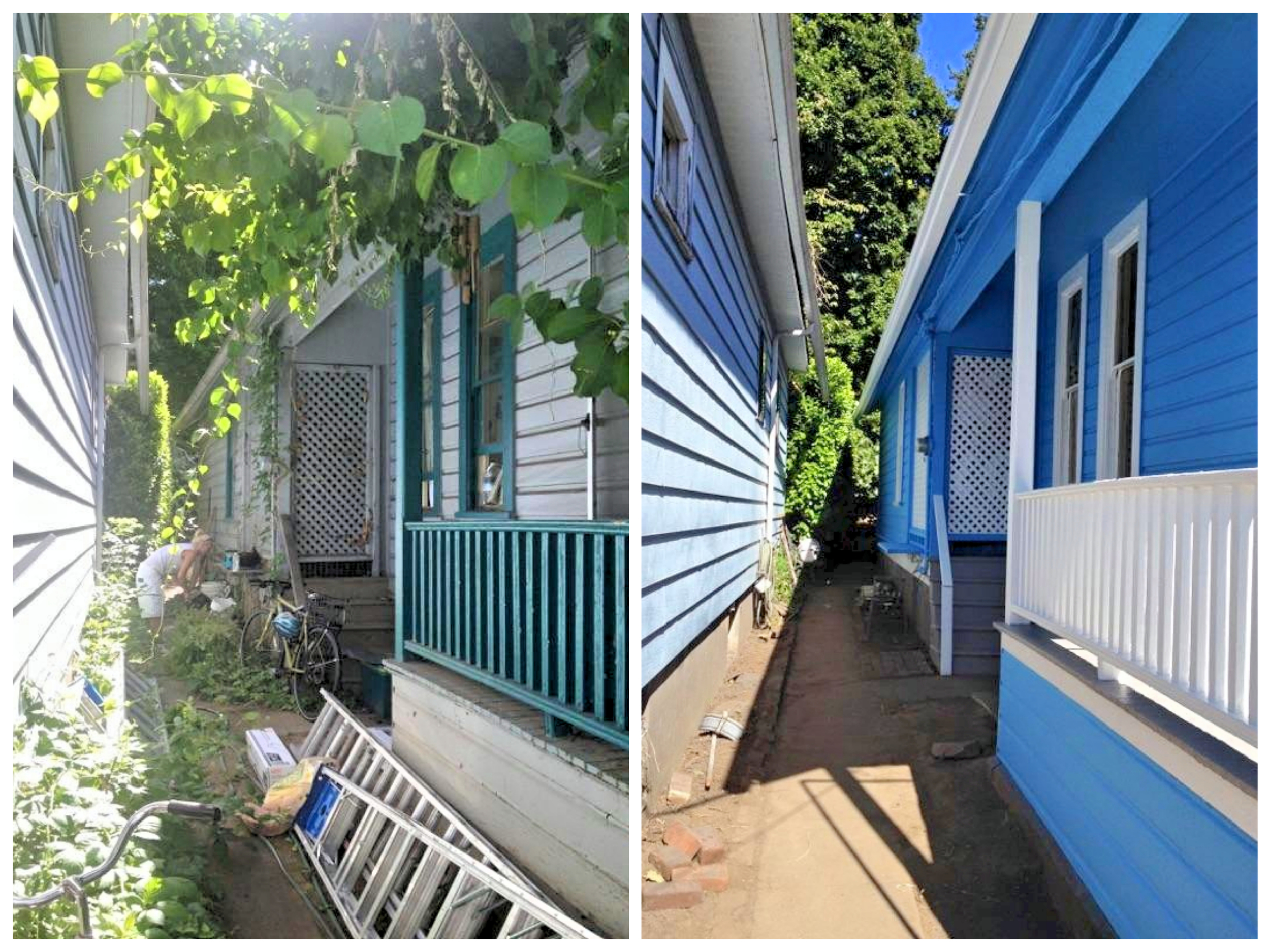 Lead based paint renovation before and after