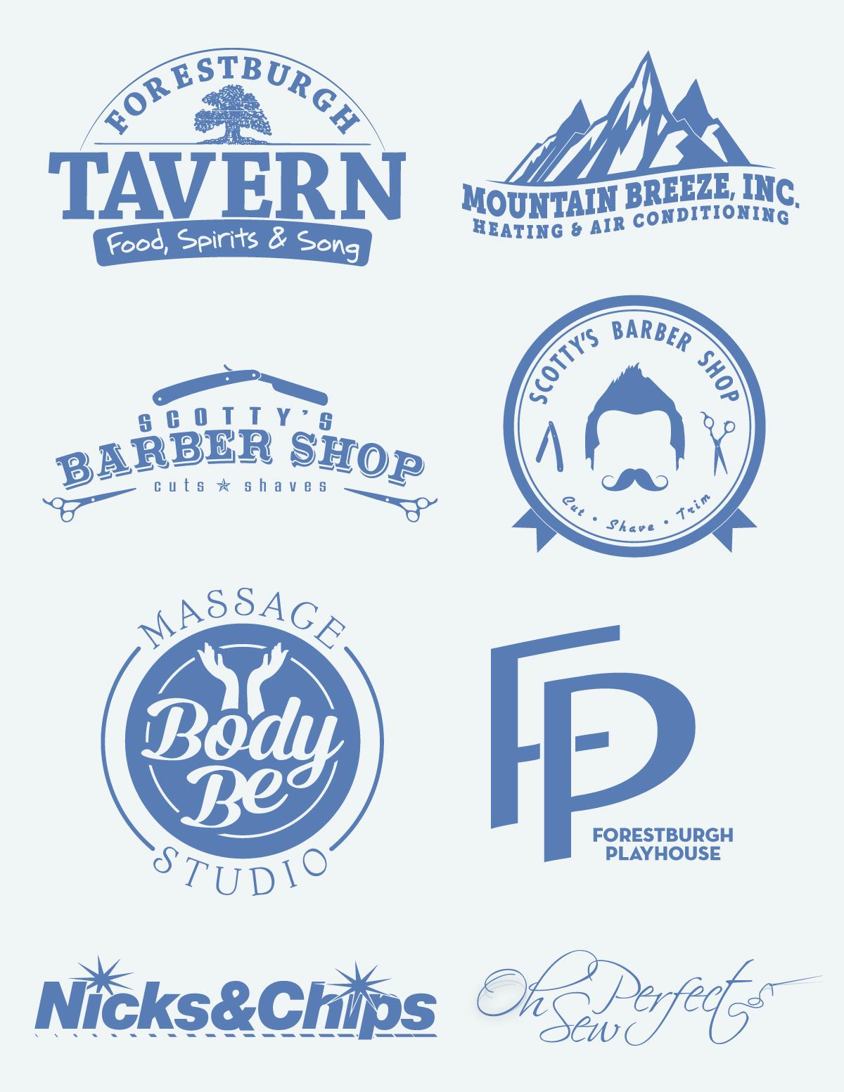 A Few Logo Designs