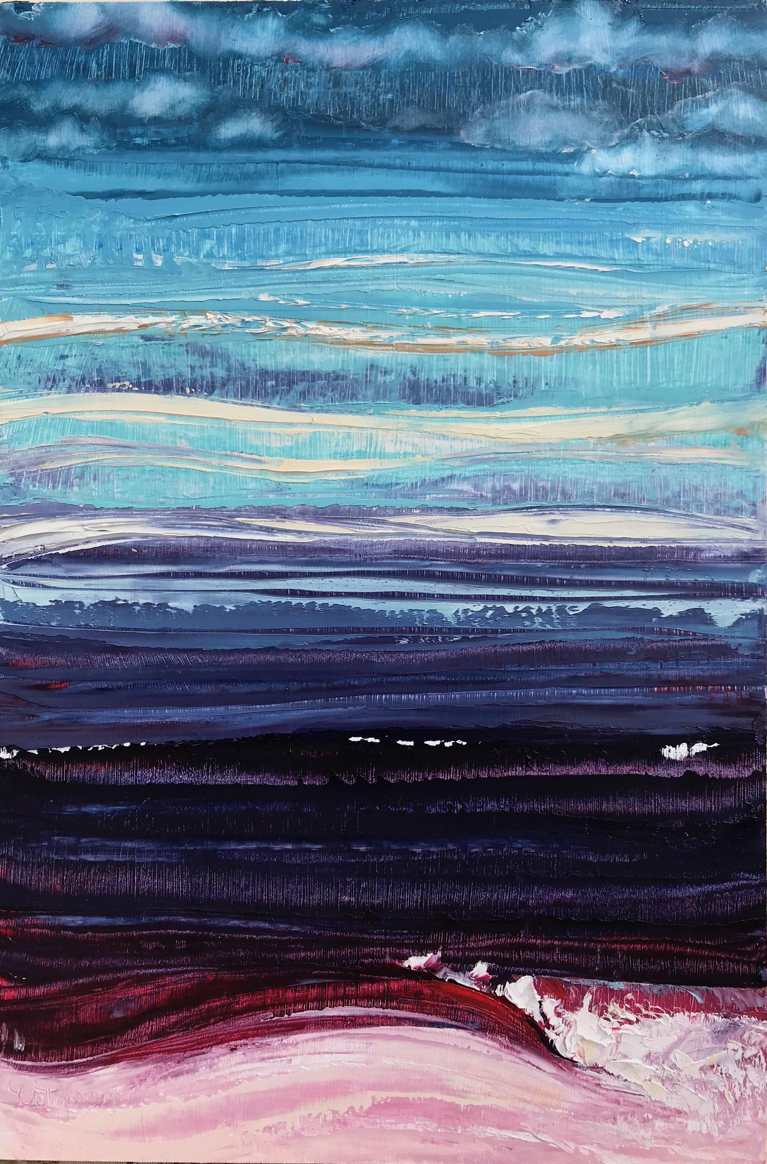 """""""Dusk Break""""18x12 inch Oil on Canvas"""