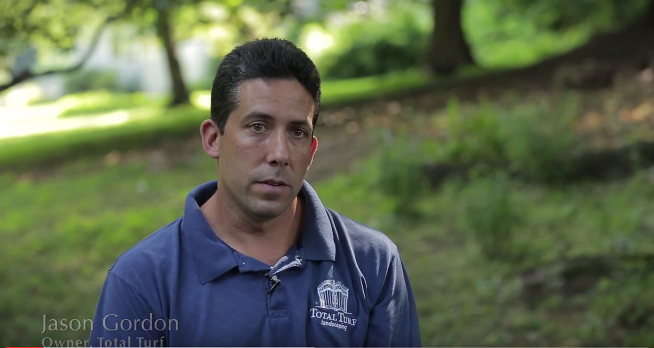 Total Turf Landscaping's Jason Gordon Talks about installing paver stones.