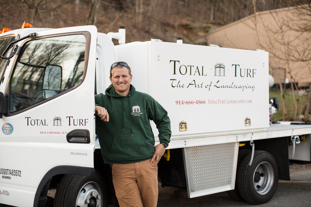 Total Turf Plant Health Care Spray Truck