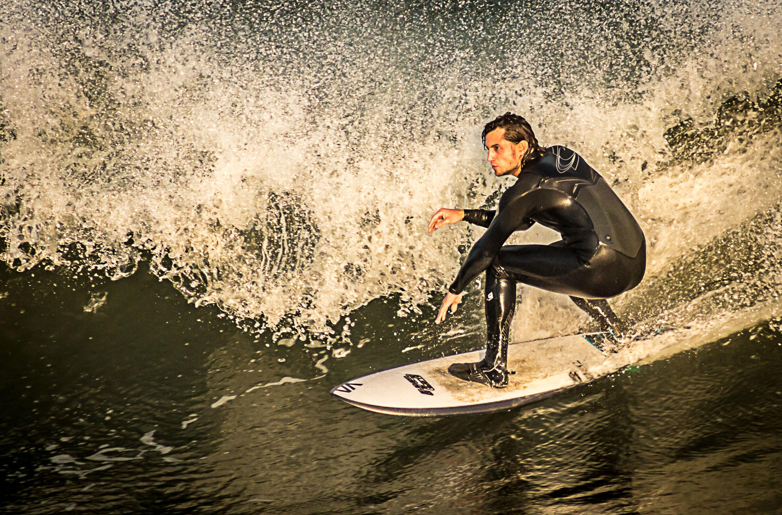 Shredding the wave
