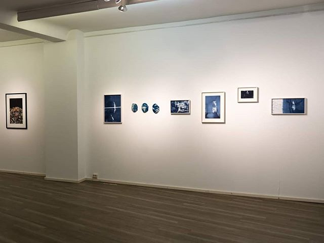 💙 These works are now on it's way home to Helsinki from Wiesbadener Fototage 💙 I got a lot good memories from this show! Special thanks to @katjamariaphoto and #frauenmuseumwiesbaden 💙 . . .  #wiesbadenerfototage #annihanen