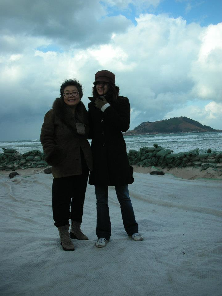 Soonja and I during my trip to Jeju