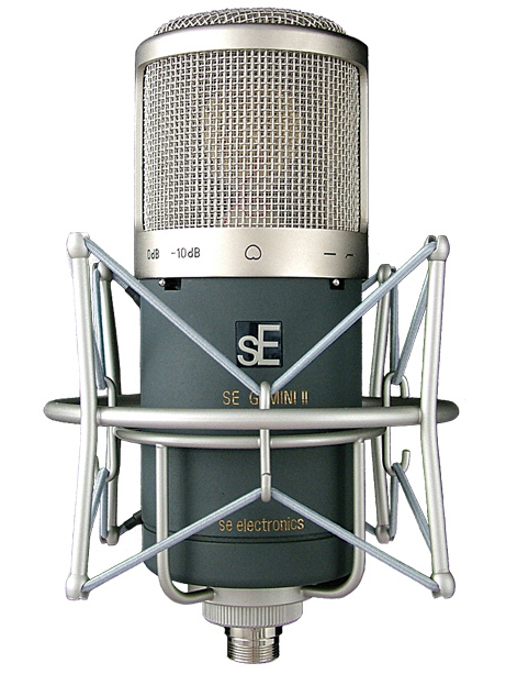 sE's flagship cardioid tube mic for truly massive vocals.