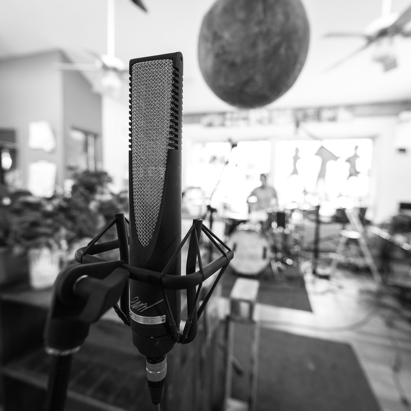 The RNR1 as a drum room mic.
