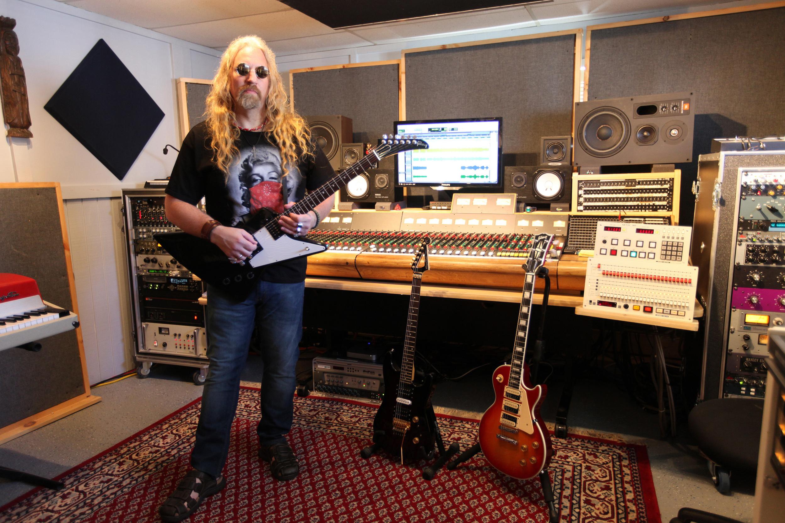 Brian Tarquin, at Jungle Room Studios.