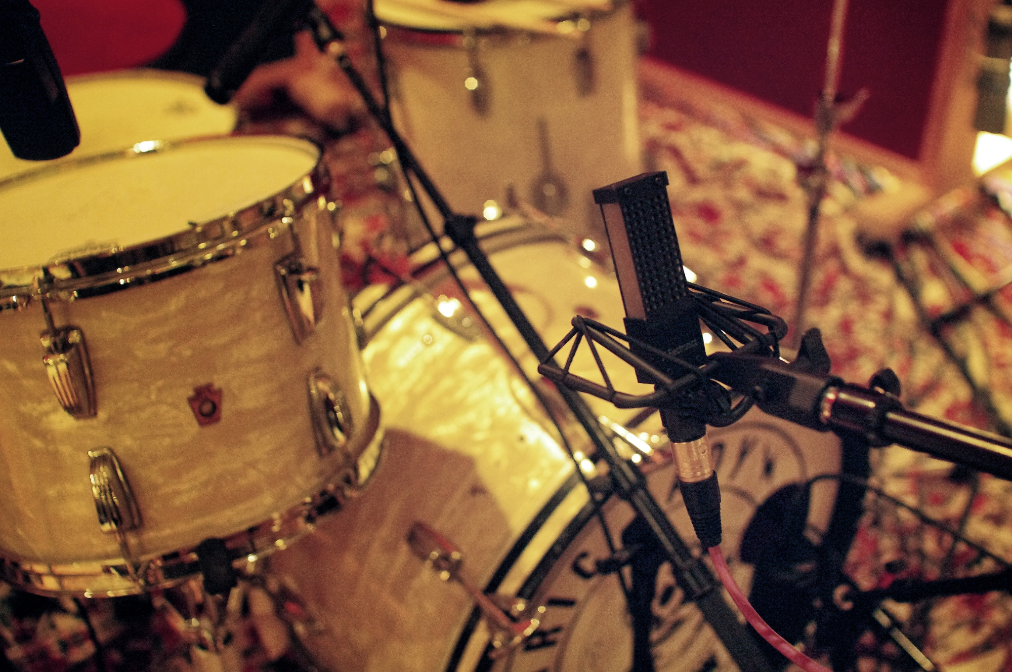 A VR1 at  Electric Lady Studios NYC  on a session with John O'Mahoney (Metric, The Kills).