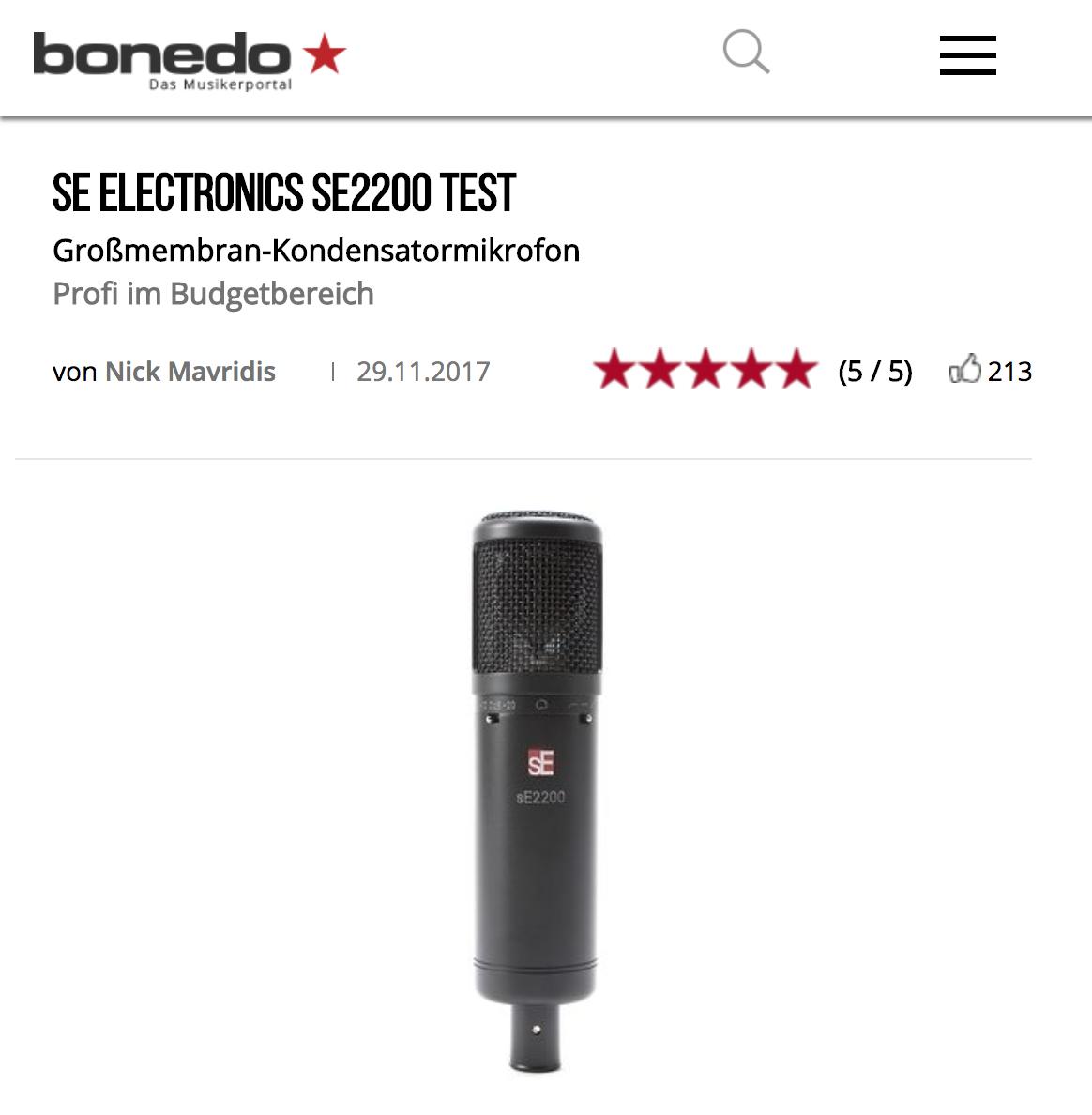 bonedo-sE2200-review.png