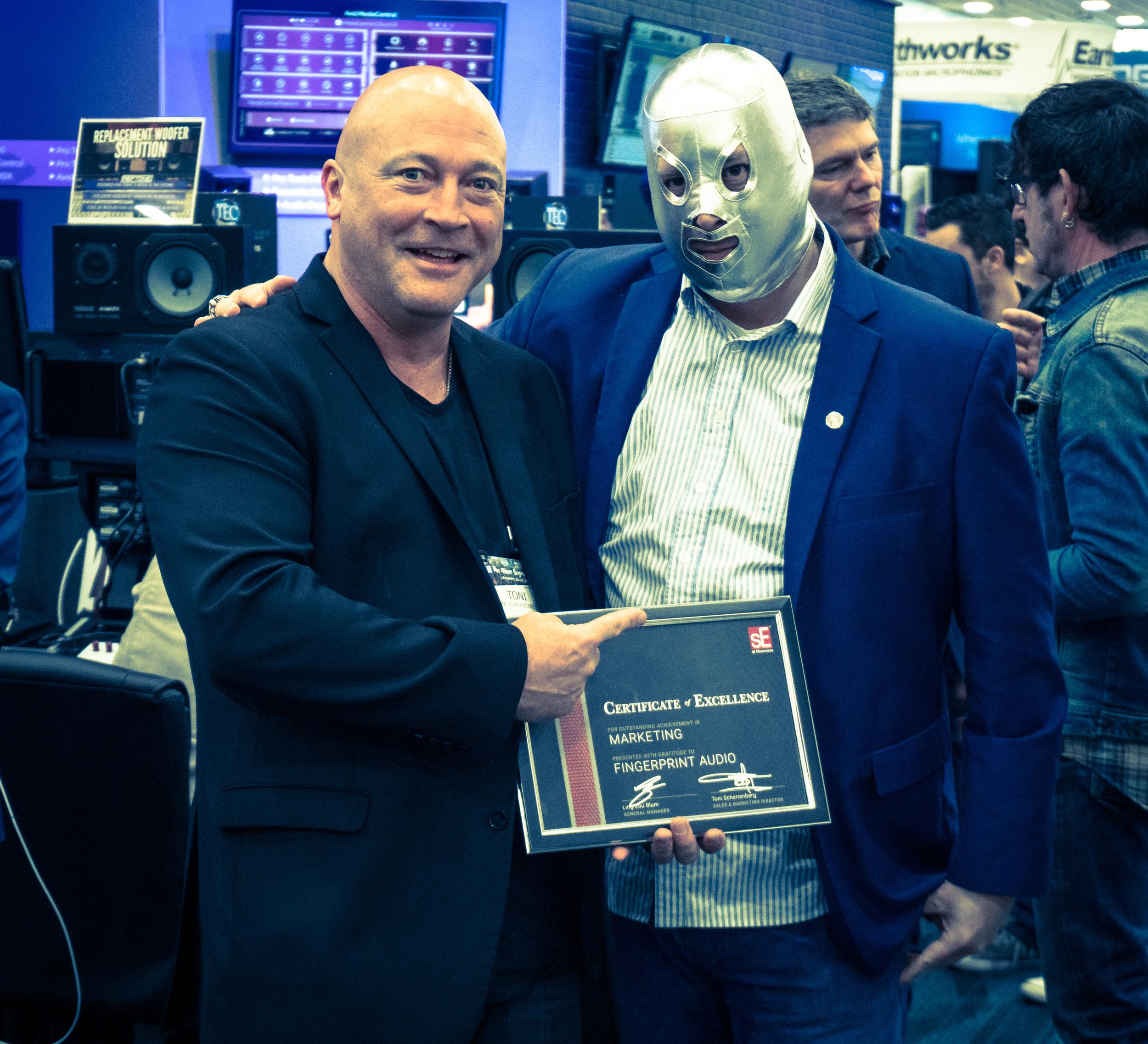 Fingerprint Audio: Marketing Award