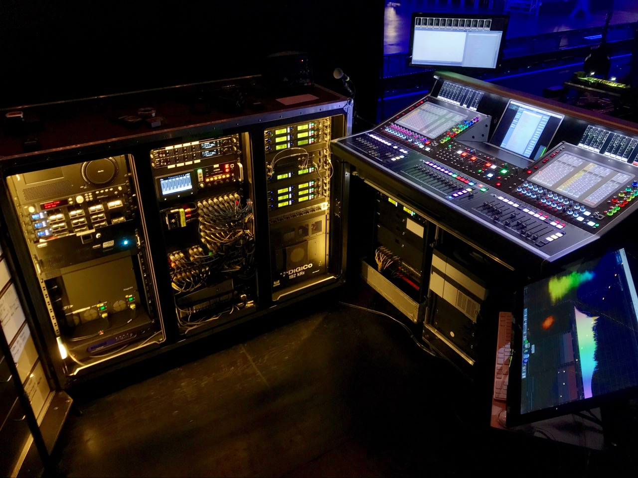 """""""My FOH setup for Milky Chance."""""""