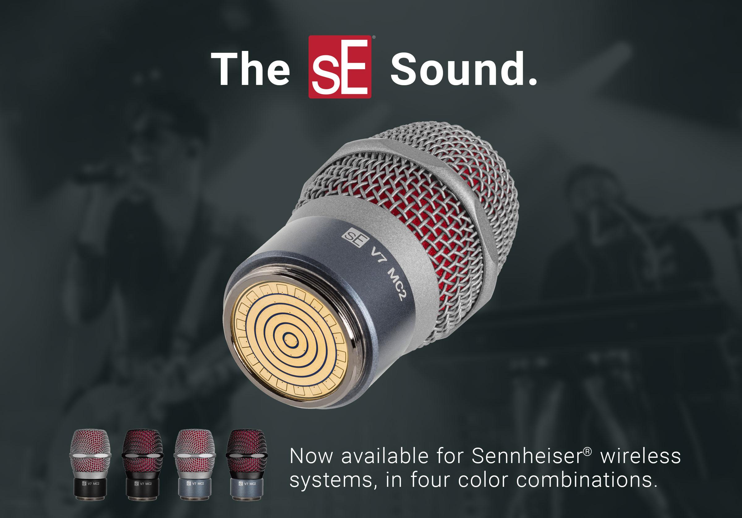 The V7 MC2 for Sennheiser®