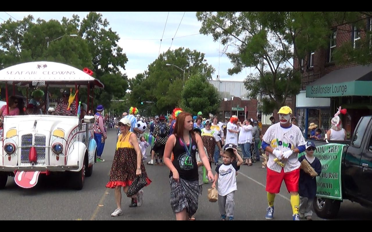 Wallingford Kiddies Parade - July 5