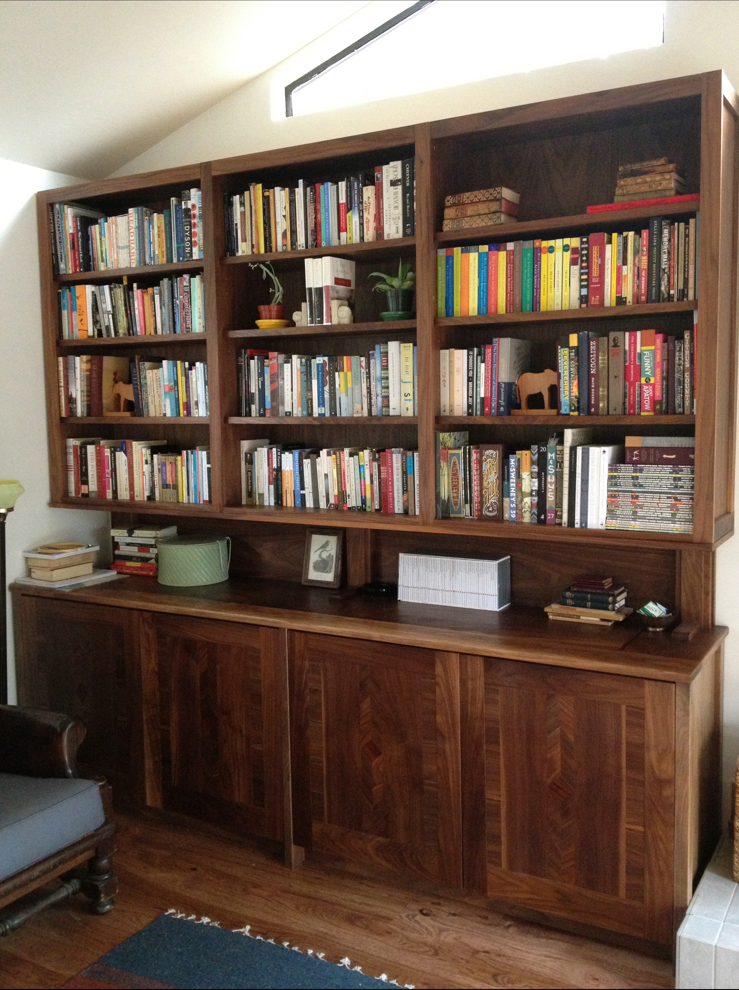 Built-in Cabinets/Bookshelves- Guerneville