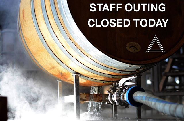 We will be CLOSED today at both breweries on Monday, May 13th for a Staff Outing. We will be back to regularly scheduled hours tomorrow at 4PM. Stay dry out there.