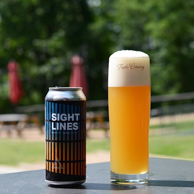 2 of 2 ⟁ for this Friday's release in Fulton. Sight Lines IPA - Our West Coast influenced IPA takes shape in this 6% ABV slightly hazy pale yellow pour. Both intentionally and intensively kettle and dry hopped at various points in its life with Simcoe, Citra and Chinook. This beer delivers citrus, tangerine, melon, and a firmly crisp pine like finish. Born out of the need for something dryer and less yeast focused than usual, we're excited to offer a hoppy beer that branches off into its own territory. $14 per 4 pack.