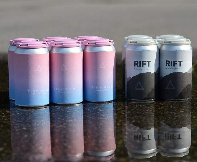 We have two new 12oz companions for all of your water activities this weekend. Tiny Pils and Rift West Coast Inspired IPA which will both be available tomorrow in Fulton at noon.