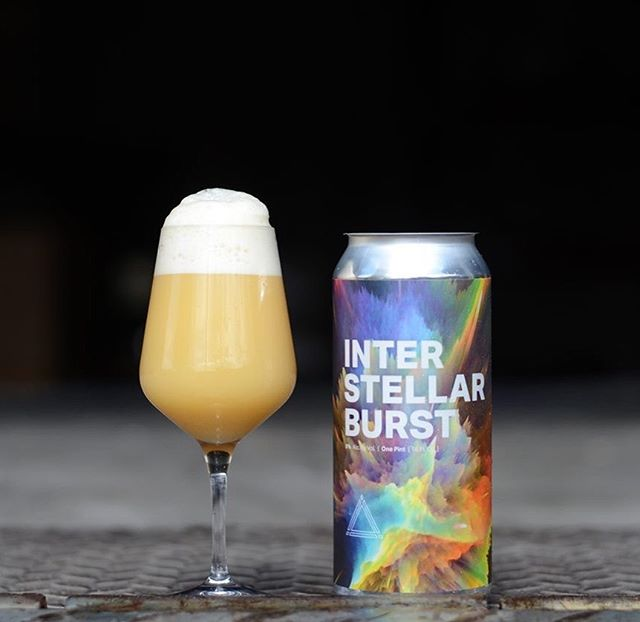 1 of 3 ⟁ for this weeks stellar Friday release in Fulton. The crowd favorite, Interstellar Burst 🚀🚀 8% DIPA sets the stage. Generously hopped with Galaxy, Citra and El Dorado with deep and plush impressions of passionfruit, pineapple, grapefruit, and mango. $17.50 per 4 pack (1 case limit).