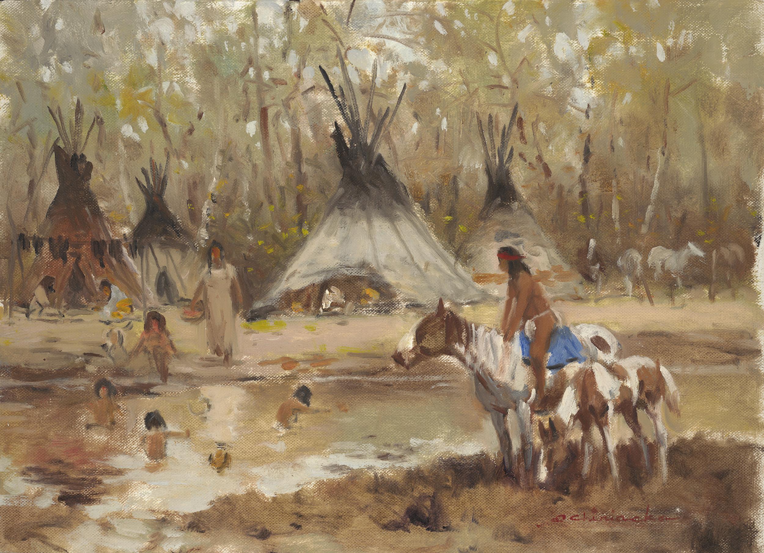 Sioux Camp