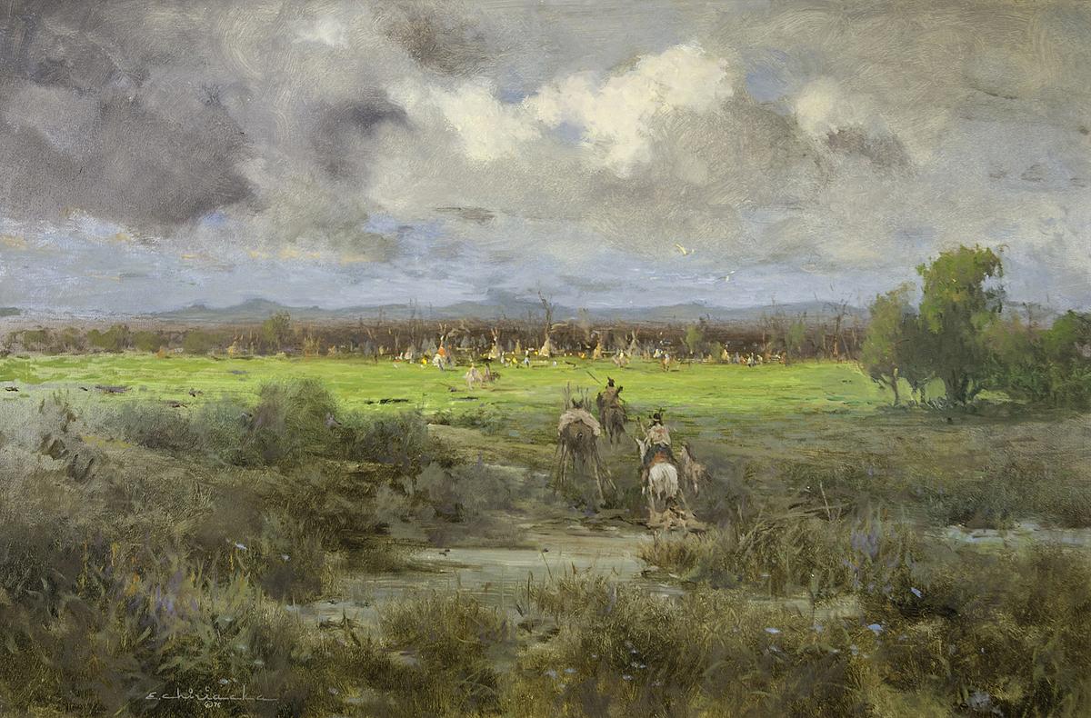 A Plains Camp