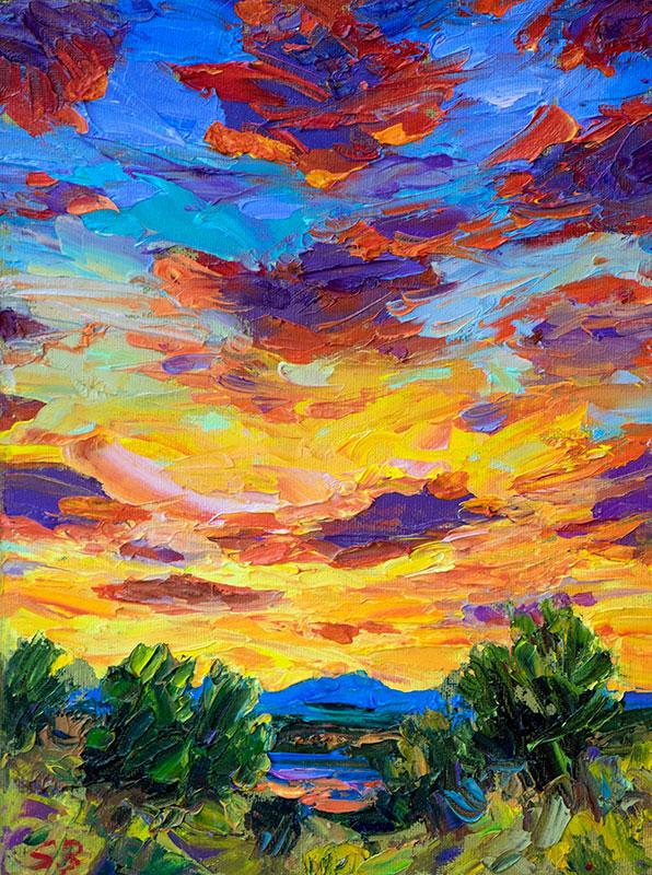 Sunset Serendipity
