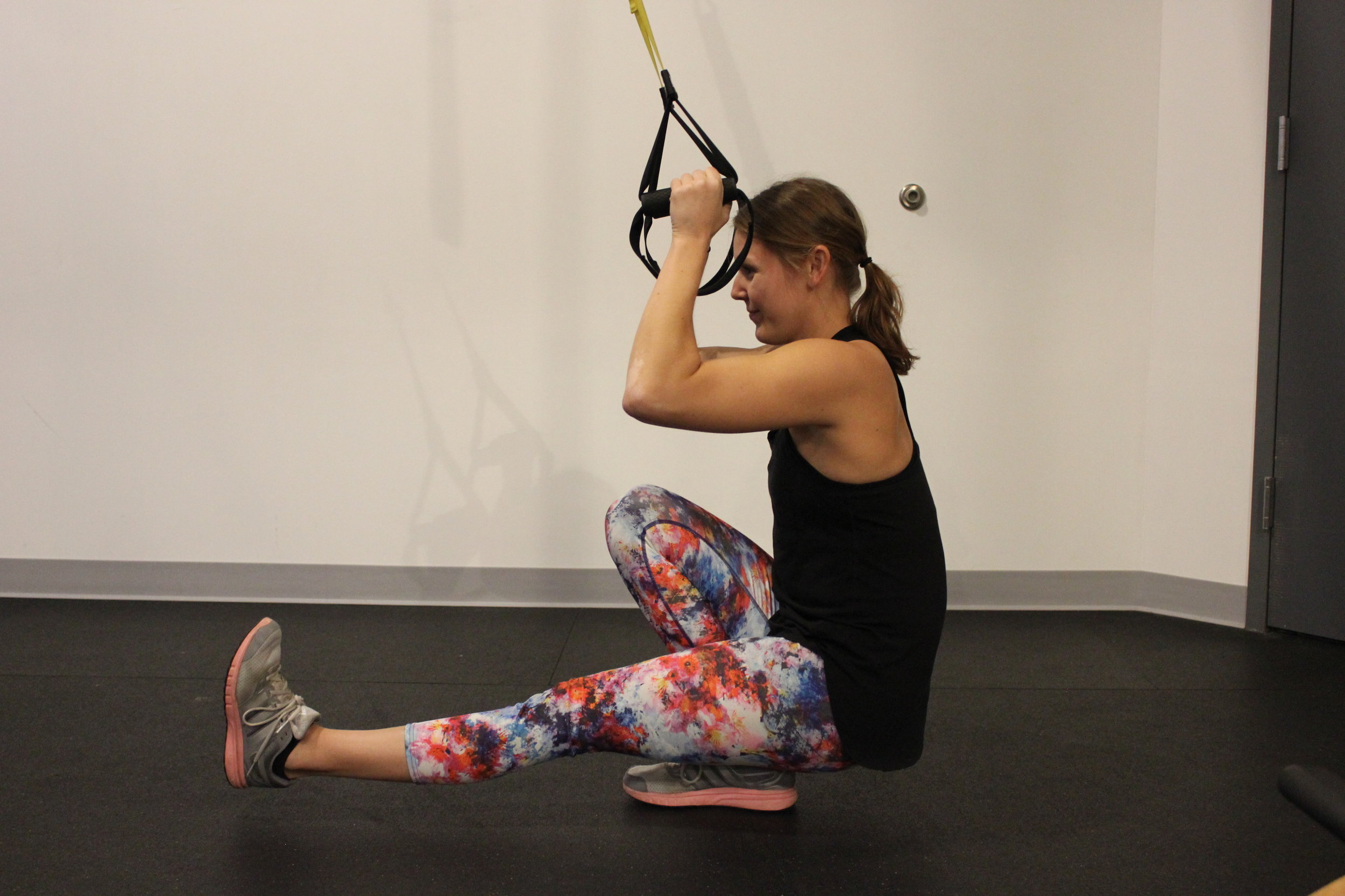 Pistol Squat with TRX