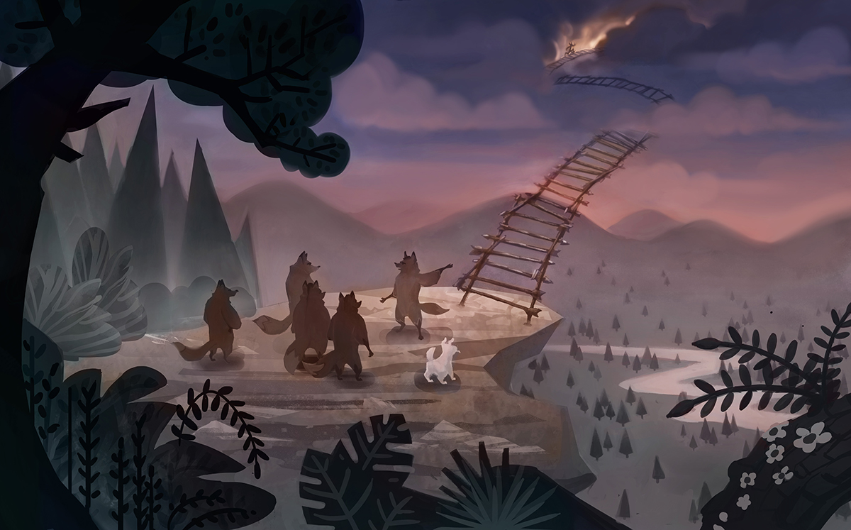Tale world concept by Jas Tham and Lysandra Nelson.