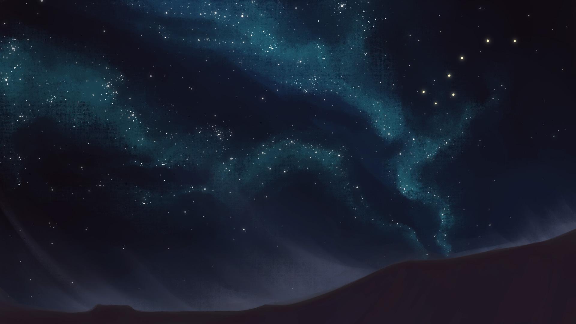 Desert sky concept by Lysandra Nelson.