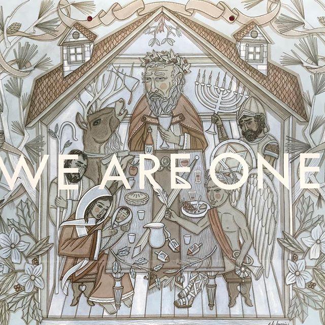 ✝️Happy✡️Holidays☯️Y'all☮️ #weareallone #happyholidays #HappyHanukkah  #tao #peace