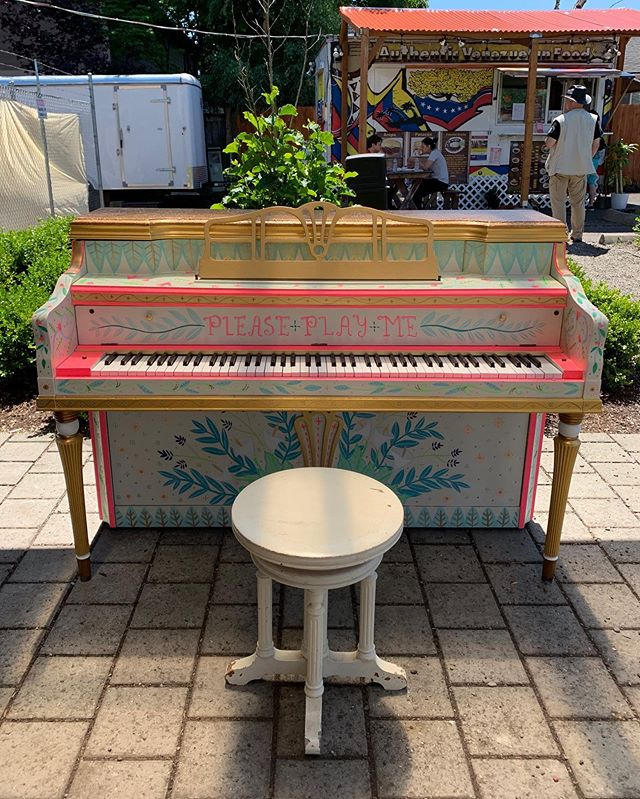 #pushplaypiano✨@portlandmercado✨ Thank You @hellomegandiana for all your hard work and love you put into this project!! ✨💜✨